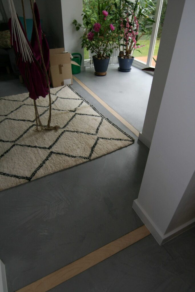 Mikrocement-podłoga